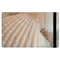 Sunny White Seashells Apple iPad 3/4 Flip Case