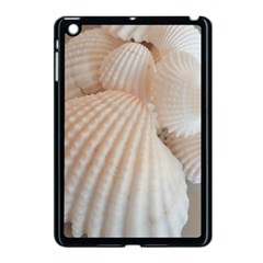 Sunny White Seashells Apple iPad Mini Case (Black)