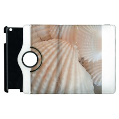 Sunny White Seashells Apple iPad 2 Flip 360 Case