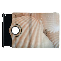 Sunny White Seashells Apple iPad 3/4 Flip 360 Case