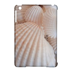 Sunny White Seashells Apple iPad Mini Hardshell Case (Compatible with Smart Cover)
