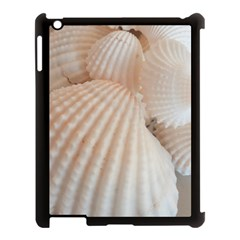Sunny White Seashells Apple Ipad 3/4 Case (black)