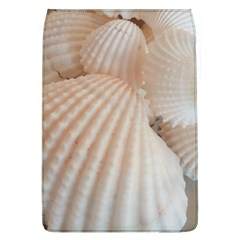Sunny White Seashells Removable Flap Cover (Large)