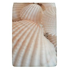 Sunny White Seashells Removable Flap Cover (small)