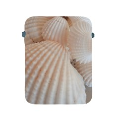 Sunny White Seashells Apple iPad Protective Sleeve