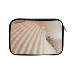 Sunny White Seashells Apple iPad Mini Zippered Sleeve