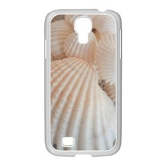 Sunny White Seashells Samsung GALAXY S4 I9500/ I9505 Case (White)