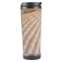 Sunny White Seashells Travel Tumbler