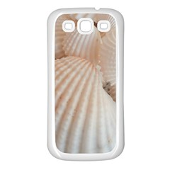 Sunny White Seashells Samsung Galaxy S3 Back Case (white)