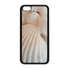Sunny White Seashells Apple Iphone 5c Seamless Case (black)