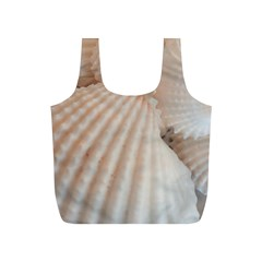 Sunny White Seashells Reusable Bag (S)