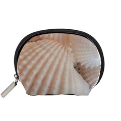 Sunny White Seashells Accessory Pouch (Small)