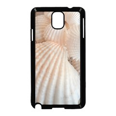 Sunny White Seashells Samsung Galaxy Note 3 Neo Hardshell Case (black)