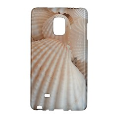 Sunny White Seashells Samsung Galaxy Note Edge Hardshell Case