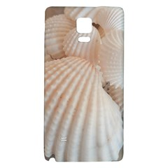 Sunny White Seashells Samsung Note 4 Hardshell Back Case