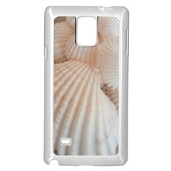 Sunny White Seashells Samsung Galaxy Note 4 Case (White)