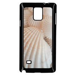 Sunny White Seashells Samsung Galaxy Note 4 Case (black)