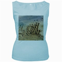 Lol Women s Tank Top (baby Blue)