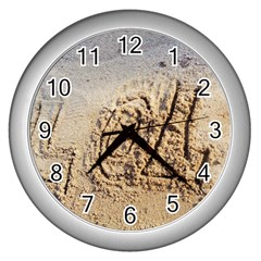 Lol Wall Clock (silver)