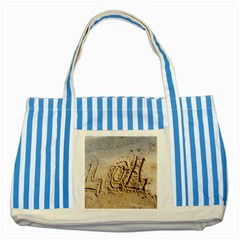 Lol Blue Striped Tote Bag