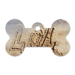 Lol Dog Tag Bone (one Sided)