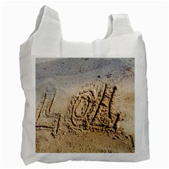 LOL White Reusable Bag (One Side)