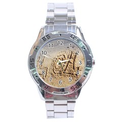 LOL Stainless Steel Watch