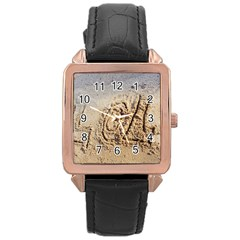 Lol Rose Gold Leather Watch
