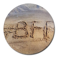 #bff 8  Mouse Pad (round)