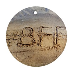#bff Round Ornament