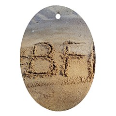 #bff Oval Ornament