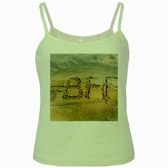 #bff Green Spaghetti Tank