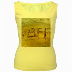#bff Women s Tank Top (yellow)