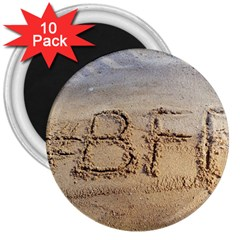 #bff 3  Button Magnet (10 Pack)