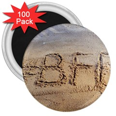 #bff 3  Button Magnet (100 Pack)