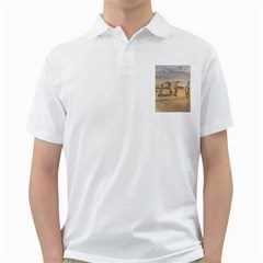 #bff Men s Polo Shirt (white)