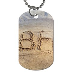 #bff Dog Tag (one Sided)