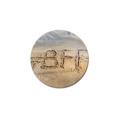 #bff Golf Ball Marker 10 Pack