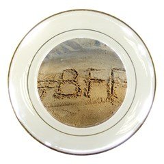 #BFF Porcelain Display Plate