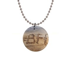 #bff Button Necklace