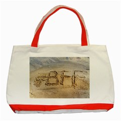 #bff Classic Tote Bag (red)