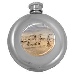 #BFF Hip Flask (Round)