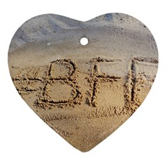 #bff Heart Ornament (two Sides)