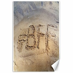 #BFF Canvas 24  x 36  (Unframed)