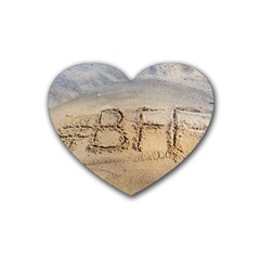 #BFF Drink Coasters 4 Pack (Heart)