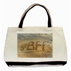 #bff Twin Sided Black Tote Bag