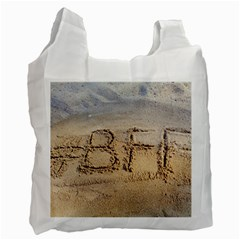 #BFF White Reusable Bag (Two Sides)