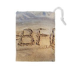 #BFF Drawstring Pouch (Large)