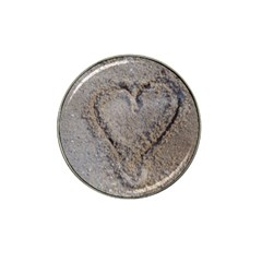Heart In The Sand Golf Ball Marker 4 Pack (for Hat Clip)