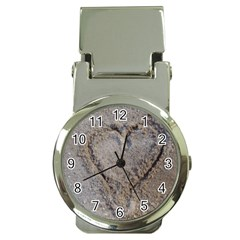 Heart In The Sand Money Clip With Watch